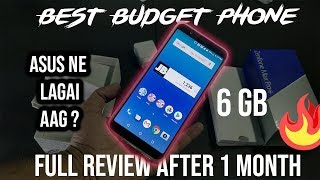 Asus Zenfone Max Pro M1 6GB   Full Review After 1 Month   Kya Nokia & Redmi Se Acha Hai ?