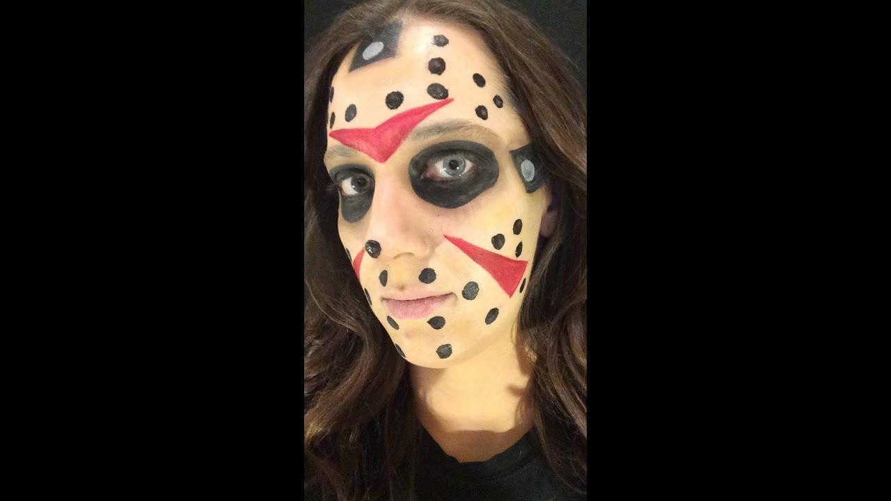 Jason Voorhees Face Makeup Makeup Vidalondon