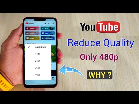 YouTube Video Quality Reduced Only 480p Resolution | Why Maximum 480p Video Quality ?