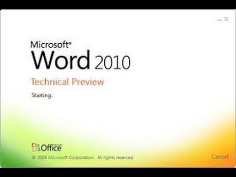مفاجأة: شرح MS Word 2010 في فيديو واحد