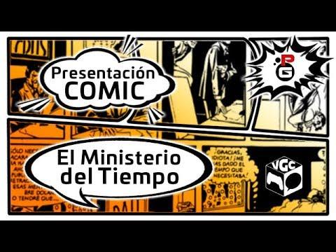 """DIRECTO: Video Game Comic 2017   Presentación del Cómic """"El Ministerio del Tiempo"""" #VGC2017"""
