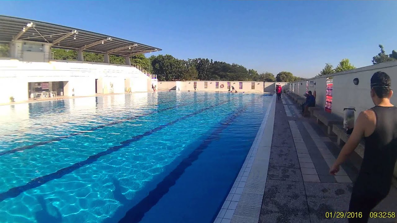 mmu cyberjaya swimming pool with standard 50 meters distance youtube