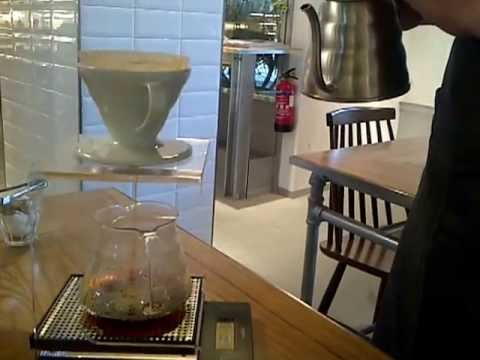 Pour over coffee experience at The Providore, Mandarin gallery