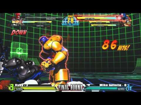 RyRy vs Mike Infinite FRXIV Marvel vs Capcom 3 Top 16 |