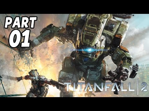 Titanfall 2 Singleplayer Gameplay German - Lets Play Titanfall 2 Deutsch Walkthrough DerSorbus