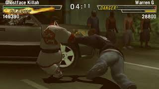 Def Jam Fight for NY: The Takeover Matches - DEMOLITION MATCH - Ghostface Killah vs Warren G