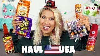 Haul jedzeniowy z USA! Wszystko o smaku bekonu!| Agnieszka Grzelak Vlog