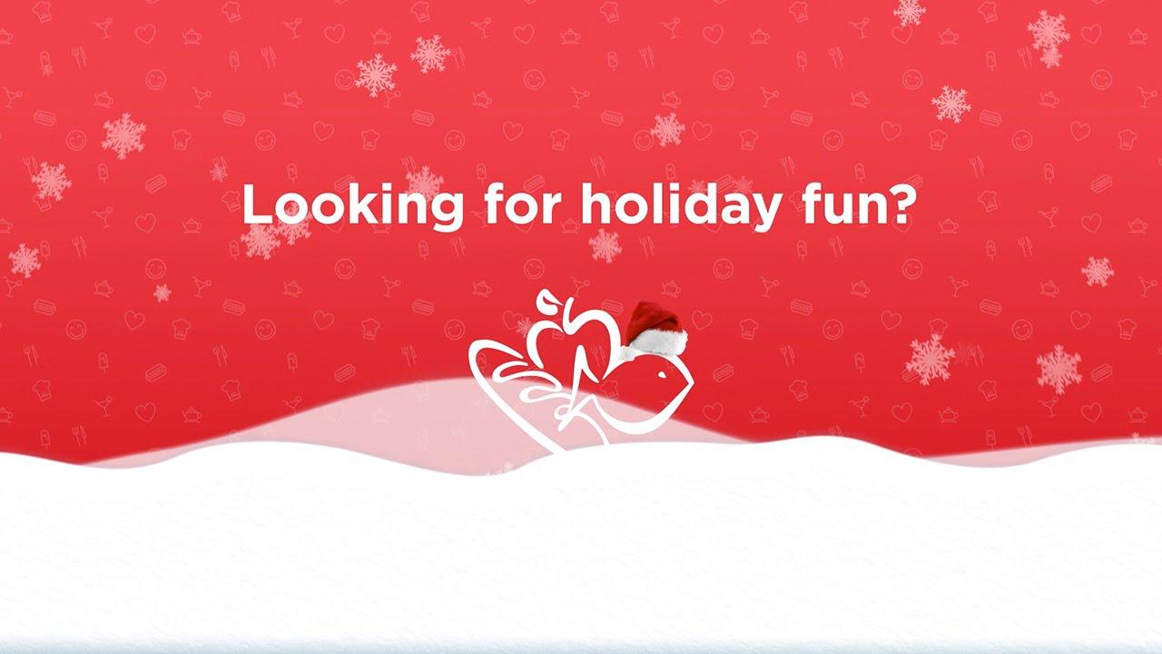 The Harris Teeter Holiday Wonder Wheel! - YouTube