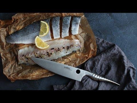 Обзор кухонных ножей Samura Reptile