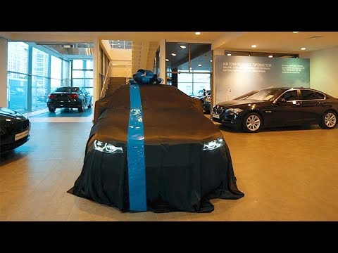 Забрали новую BMW. Неподдельные эмоции.