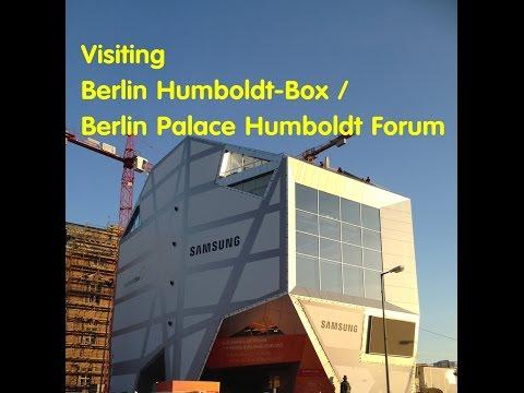BERLIN CITY TOUR: Visiting Humboldt Box, Berlin Palace Humboldt Forum