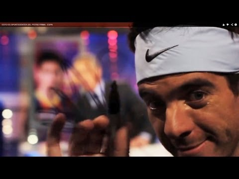 "Del Potro on SportsCenter, Serena Singing, Roddick ""Fights"" Djokovic"