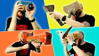 All Nintendo Labo VR Kits Tested & Reviewed