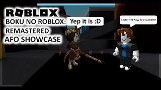 | Boku No Roblox : Remastered | NEW ALL FOR ONE QUIRK SHOWCASE!