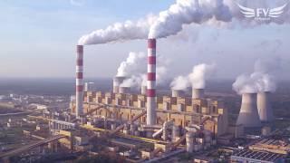 Bełchatów Power Station / Elektrownia Bełchatów z lotu ptaka