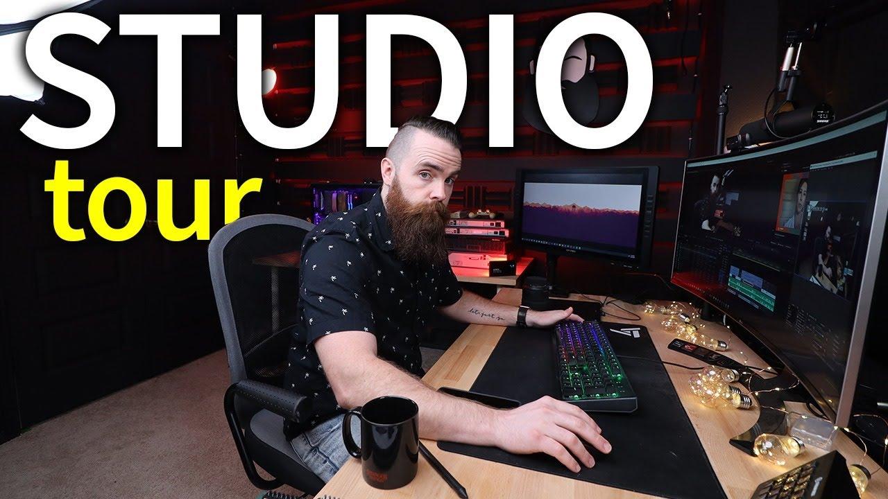 studio tour (gear i use to make videos)
