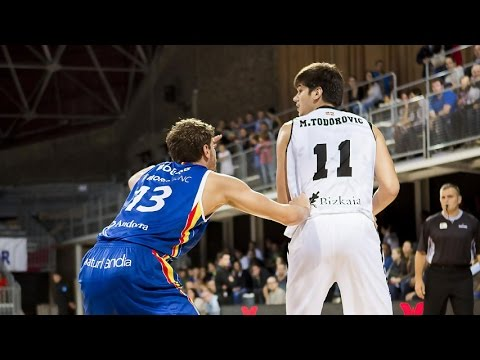 Marko Todorovic, potencial y talento al servicio de Bilbao Basket