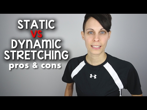 STATIC vs DYNAMIC Stretching for Flexibility & Performance Pros & Cons