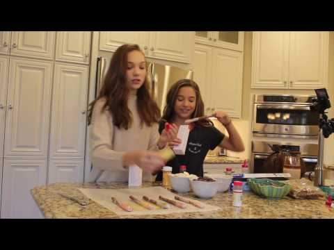 Cooking with Kenz! With my sister Maddie
