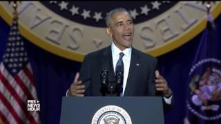 Obama: Democracy requires
