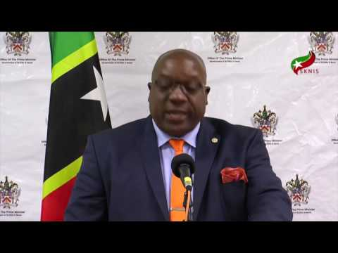 Prime Minister Harris Delivers Opening Remarks at Monthly Press Conference 5/4/2017