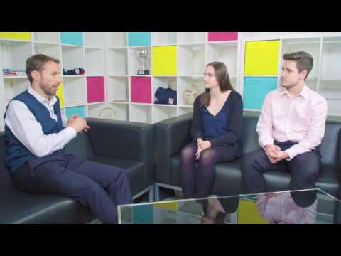 Gareth Southgate interview with the students of the University of Derby