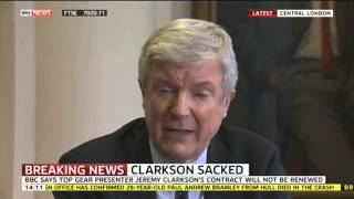 BBC Director General Explains Why BBC Dropped Jeremy Clarkson
