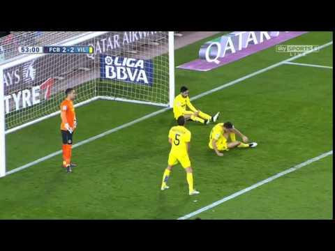 ไฮไลท์ฟุตบอลลา ลีกา สเปน บาร์เซโลนา 3-2 บีญาร์เรอัล