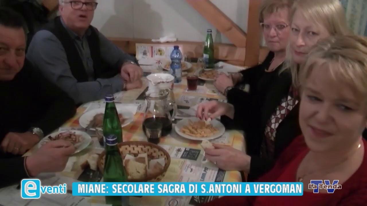 EVENTI - Miane Secolare Sagra di Sant'Antoni