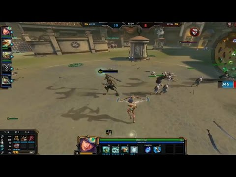RAM Plays SMITE: MY VERY FIRST SMITE GAME!! Sorry I uploaded a training video XD