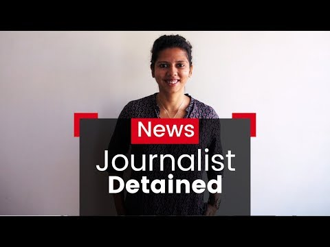 Freelance Journalist Detained