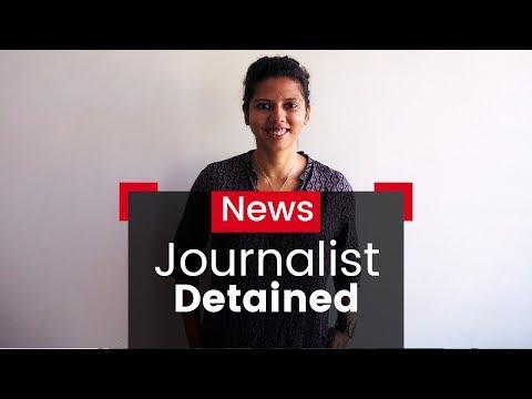 Freelance Journalist Detained