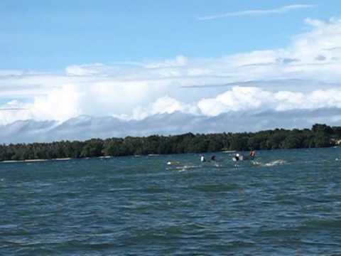 Santo to Aore Ocean Swim, Vanuatu