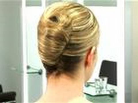 How To French Twist Hair Youtube