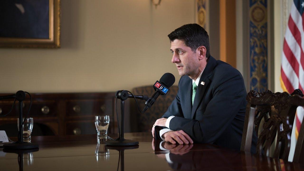 Full Transcript: Paul Ryan, Speaker Of The House, Talks To