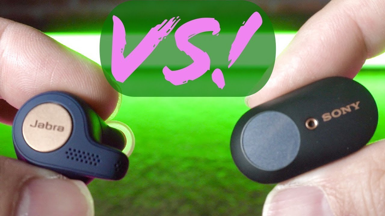 Sony Wf1000xm3 Vs Jabra Elite Active 65t Showdown Sound Quality Comparison Youtube
