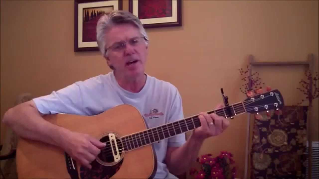 Garden Party Ricky Nelson Acoustic Guitar Lesson Youtube