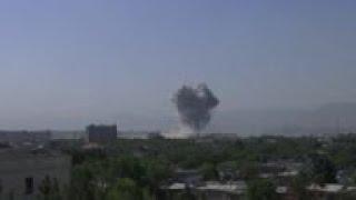 Powerful explosion in Kabul, near US Embassy