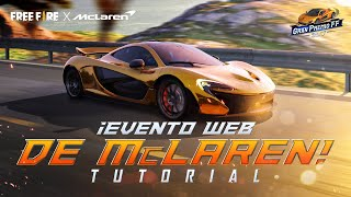 ¡Evento Web McLaren! Tutorial: Diseñador Maestro🎨| Garena Free Fire