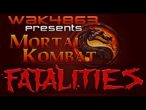 Mortal Kombat 9 Sonya Fatality Babality X Ray Bonus Outfit ALL IN ONE HD
