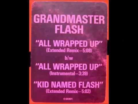 Grandmaster Flash - All Wrapped Up (Instrumental). 1987, Elektra/Asylum Records, Inc.