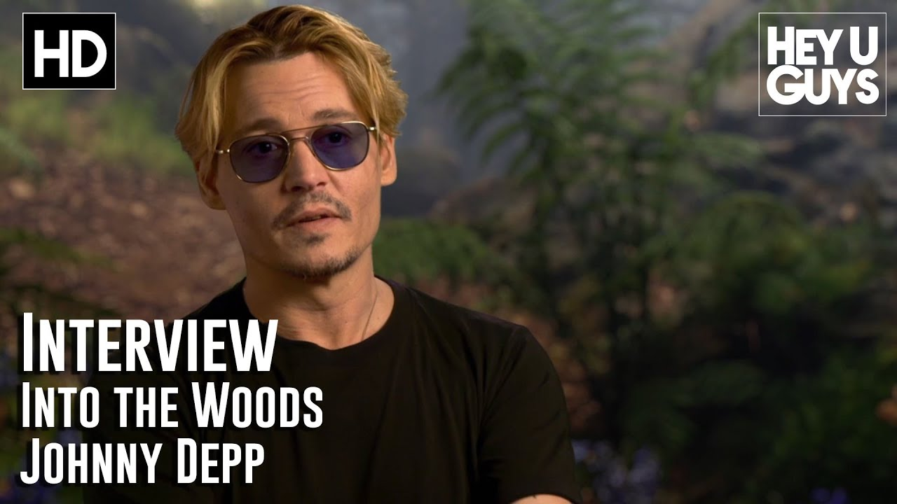 Johnny Depp Interview - Woods