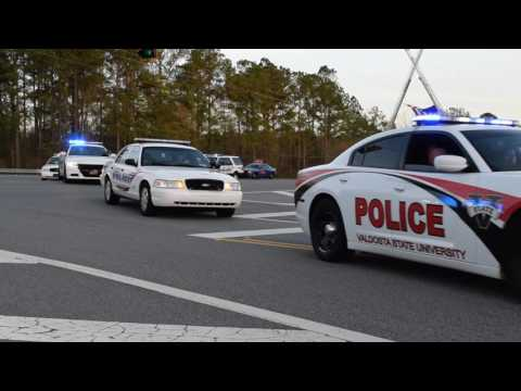 Lowndes County Deputy Michael Butler Funeral Procession