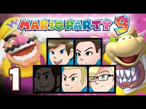 Mario Party 9: YOU CAN'T DO THAT WARIO - EPISODE 1 - Friends Without Benefits