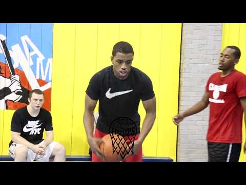 JellyFam Isaiah Washington Workout wRunTheCity before heading to Minnesota  1 on 1s the JELLY way