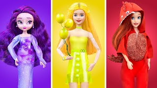 Color Challenge! Everything in One Color for Barbie