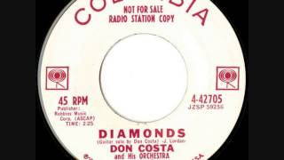 Don Costa & His Orchestra - Diamonds