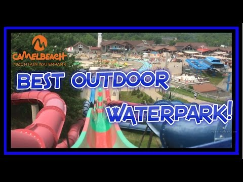 BEST OutDoor Waterpark At CamelBeach!!!!