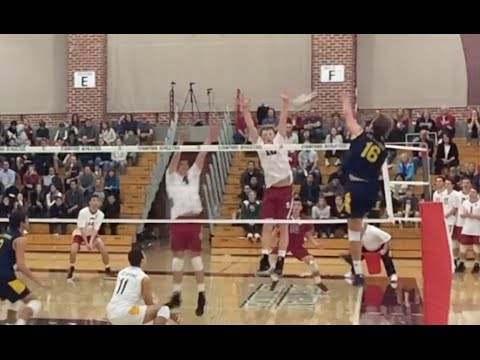 STUFF BLOCK CITY - Stanford vs UC Irvine Men's Volleyball Highlights