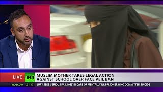 Muslim mum takes legal action against school over face veil ban
